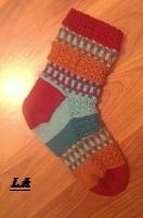 Sokker flørtende føtter mønster av bitta mikkelborg ferdig med
