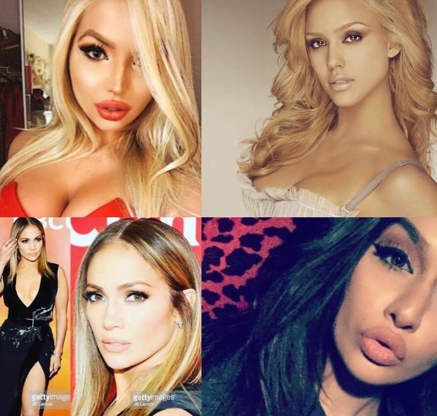jenter som tir verdens vakreste kvinner