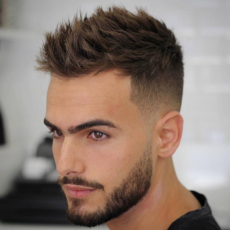 skjegg frisyrer