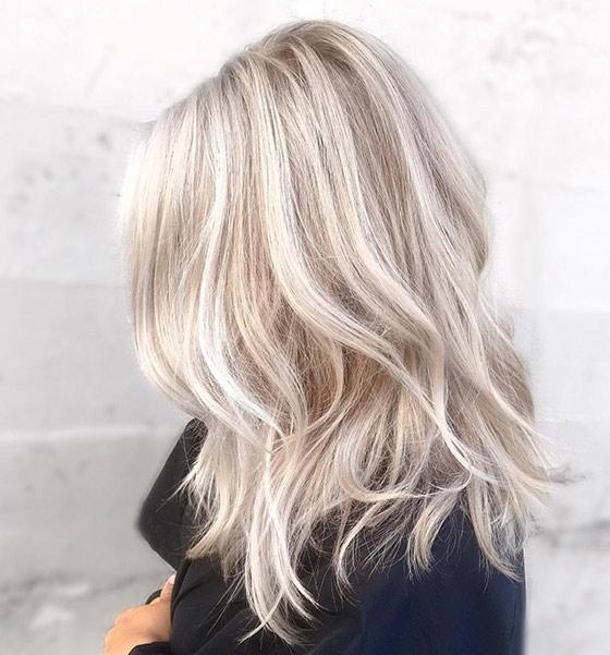 blond ettervekst