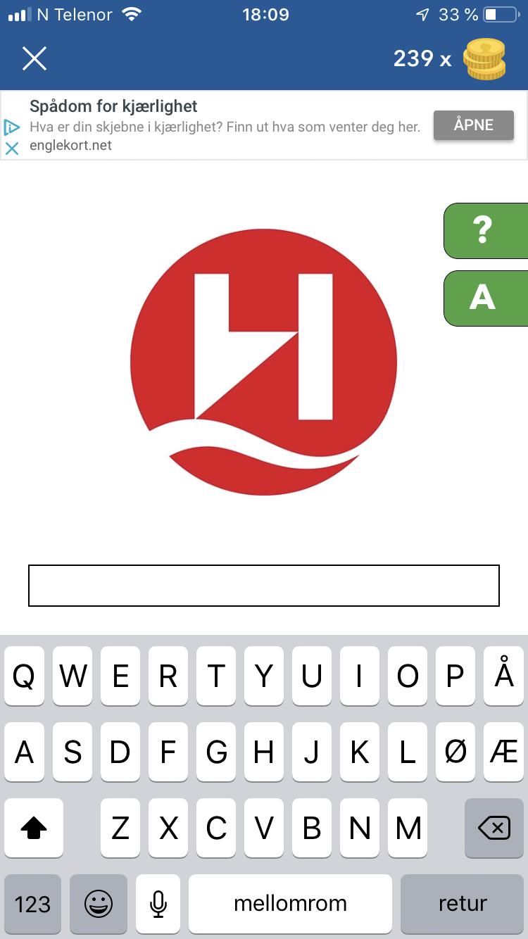 Norge logo quiz