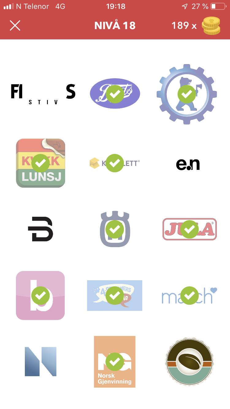 Quiz fasit app mat norsk Kviss /