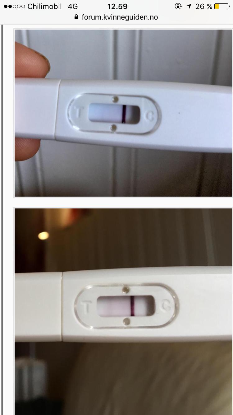Graviditetstest negativ 🤰 NEGATIV