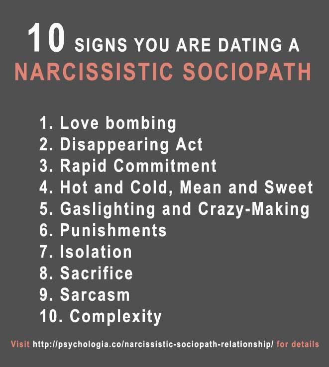 11 måter å vite at du er dating en sociopath