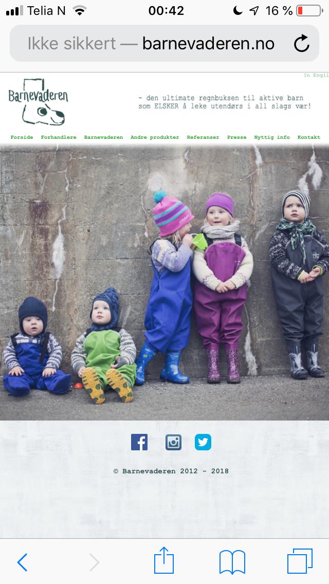 59fe1df6 Hvilket regntøy, parkdress og vinterdress anbefaler dere? - Barn og ...