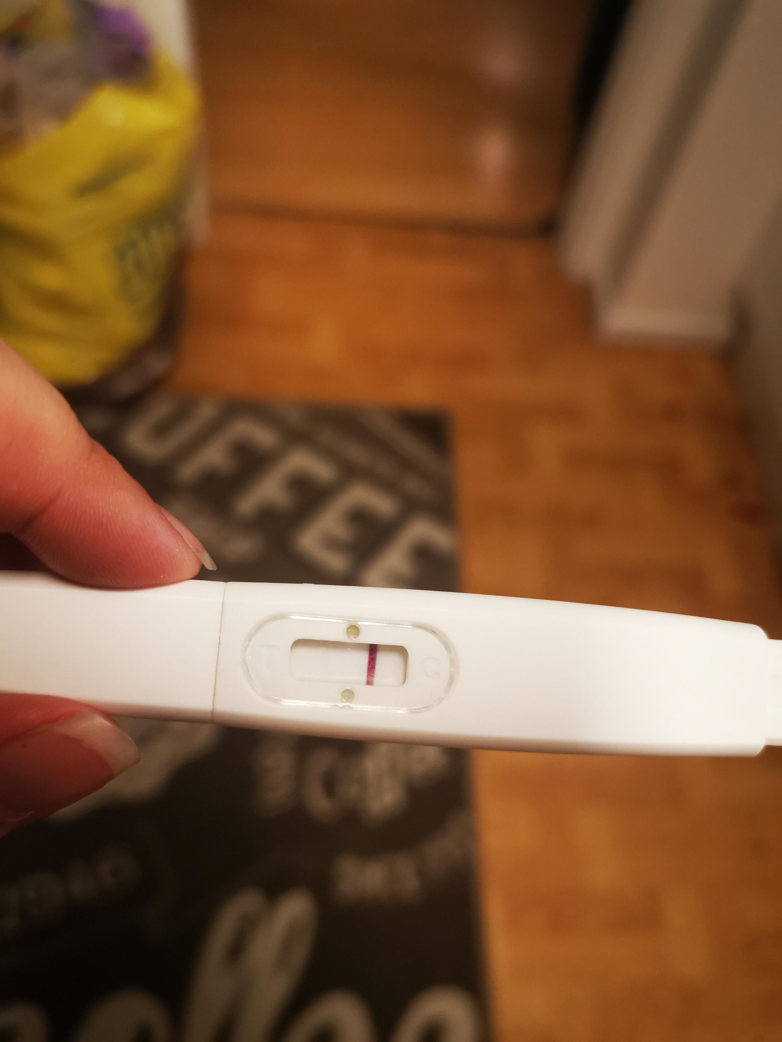 Graviditetstest negativ 🤰 FALSK