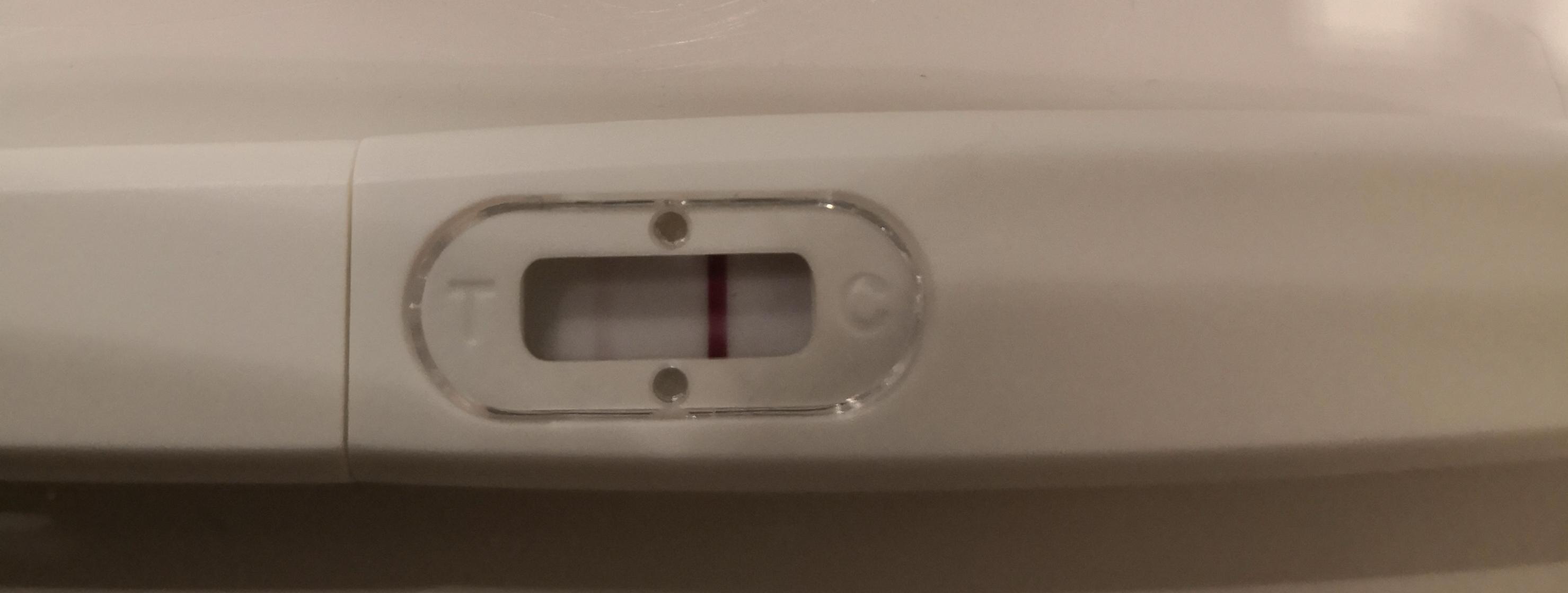 Positiv graviditetstest