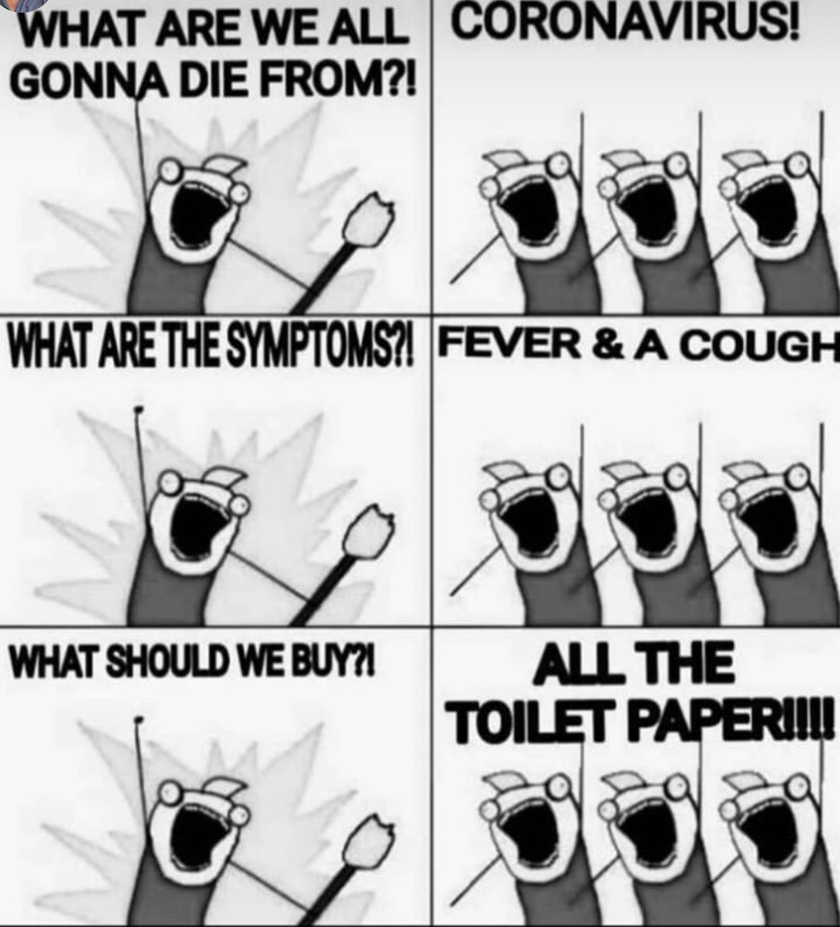 Hva er greia med å hamstre dopapir? - Koronavirus - Kvinneguiden Forum