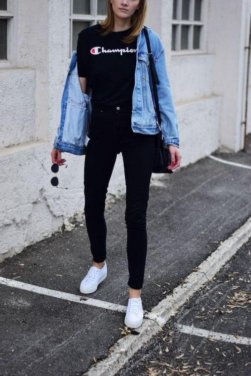 all-black-outfit-black-jeans-champion-t-shirt-denim-jacket-fall-outfits-for-girls-white-sneakers.jpg