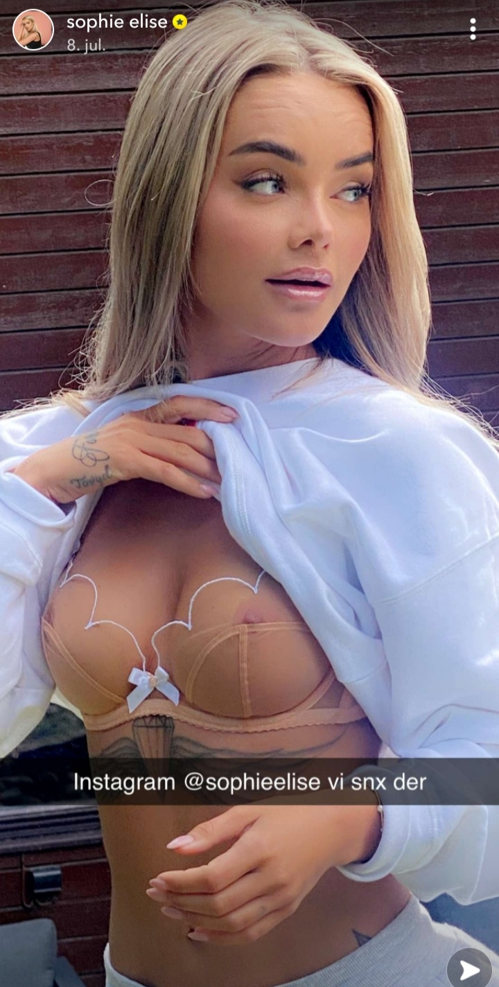 Sophie elise isachsen naken bilde